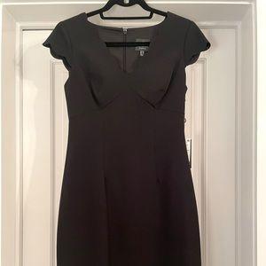 Adrianna Papel Midi Black Dress